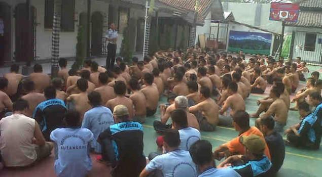 Ketua Satgas Kamtib Rutan Rangkasbitung Tegaskan Aturan kepada WBP