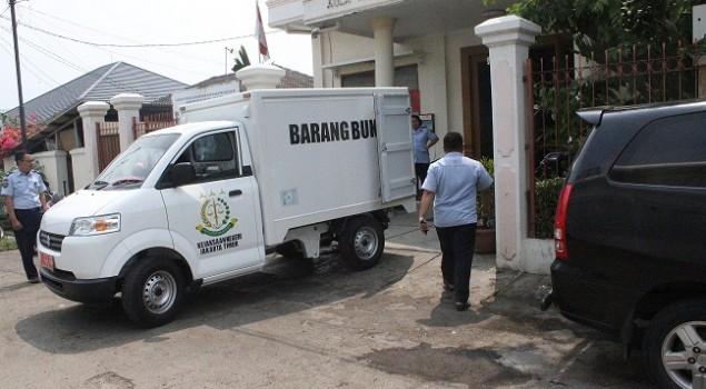 Rupbasan Jakpus Keluarkan Barang Rampasan Tabung Gas