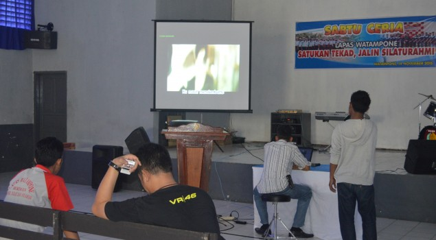 Sabtu Ceria di Lapas Watampone, Satukan Tekad Jalin Silaturahmi