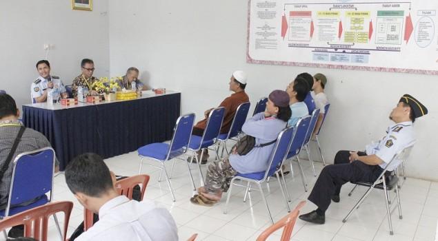 Lapas Semarang Gelar Sharing & Diskusi dengan WBP Terorisme