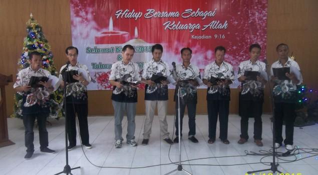 Natal Bersama di Lapas Wirogunan, Bimas Kristen Kemenag DIY Kagumi Paduan Suara WBP