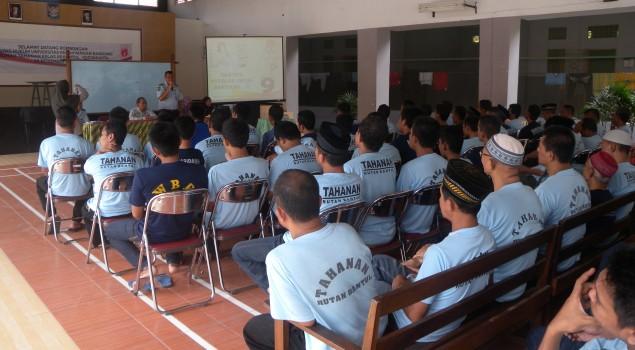 Rutan Bantul & KPUD Sosialisasikan Pilkada Serentak Kepada Warga Binaan
