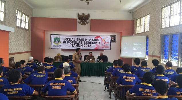 Menekan Resiko Tertular HIV/AIDS di Lapas Pemuda Tangerang