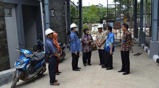 Kakanwil Jabar Tinjau Pembangunan Gudang Terbuka Rupbasan Bandung