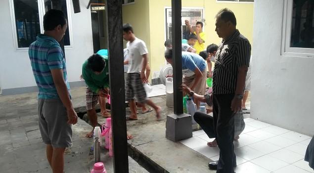 Kasubsi Yantah Rutan Rangkasbitung Turun Gunung Pantau Makanan & Minuman