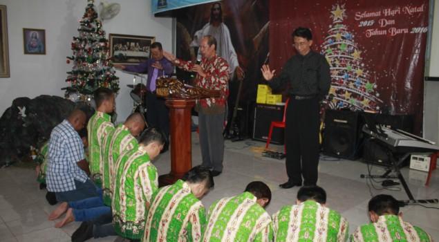 Lapas Semarang Gelar Perayaan Natal dan Pemberian Remisi