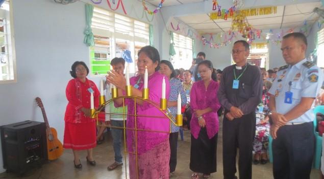 Perayaan Natal di Lapas Padangsidimpuan Berlangsung Khidmat