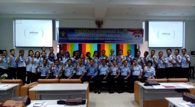 Tingkatkan SDM Pemasyarakatan Kanwil Riau Adakan Diseminasi Bimbingan Klien