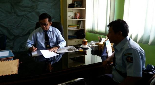 PK Pos Bapas Bagansiapiapi Konsultasi Dengan Kabapas Pekanbaru