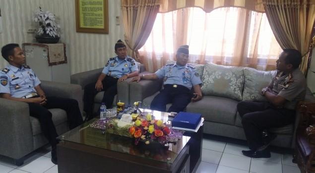 Lapas Watampone Koordinasikan Keamanan dengan Polres & Kodim Bone