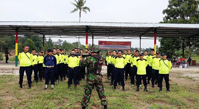 Petugas Pemasyarakatan se-Bangka Latihan Menembak Bersama Kodim 0413