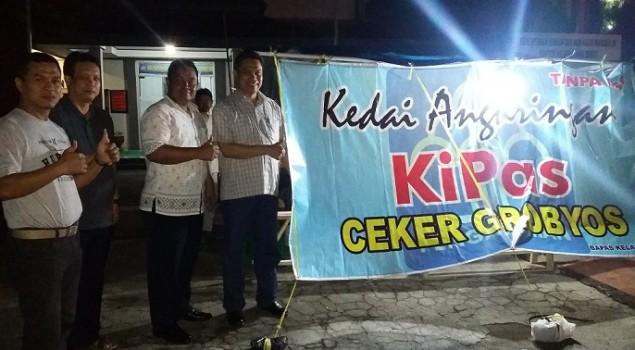 Peresmian Angkringan KiPas Wujud Bimbingan Bapas Cirebon