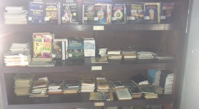 Mudahkan Pinjam/Baca, Rutan Negara Pindahkan Lokasi Perpustakaan