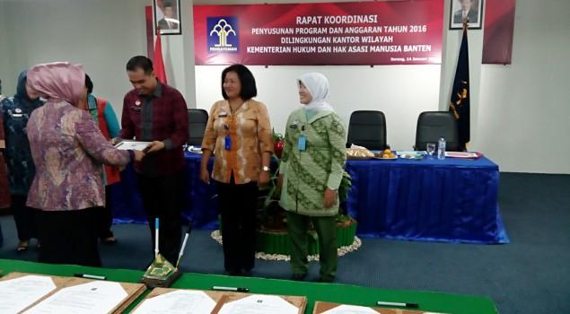 Laporan Kinerja Rutan Rangkasbitung Terbaik Se-UPT Kanwil Banten