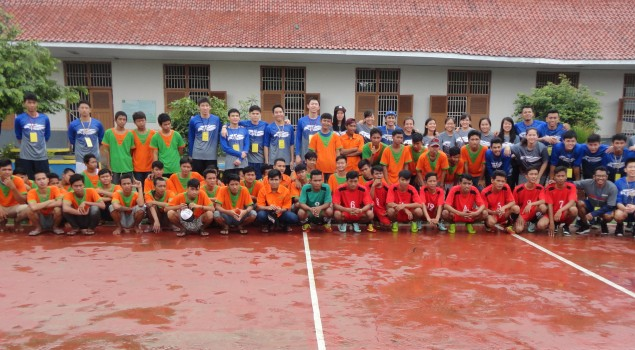 LPKA Tangerang Tanding Futsal Dengan UPH