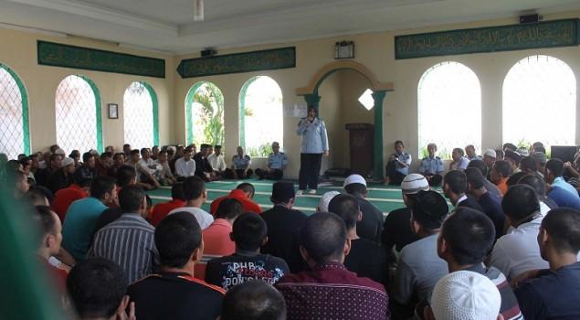Kegiatan Rohani Islam di Lapas Sumedang Dievaluasi