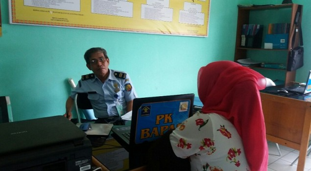 PK Bapas Pekanbaru Ambil Data Penjamin PB WBP
