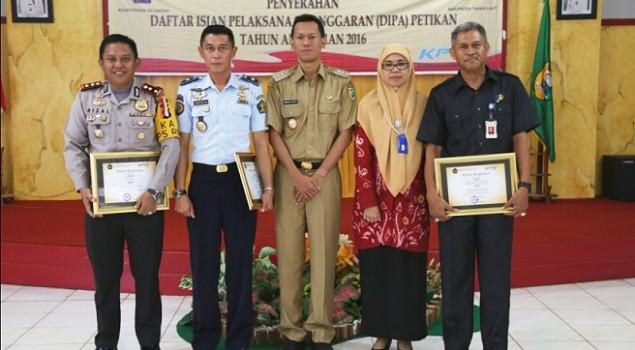 Rutan Pelaihari Raih Penghargaan dari KPPN Pelaihari
