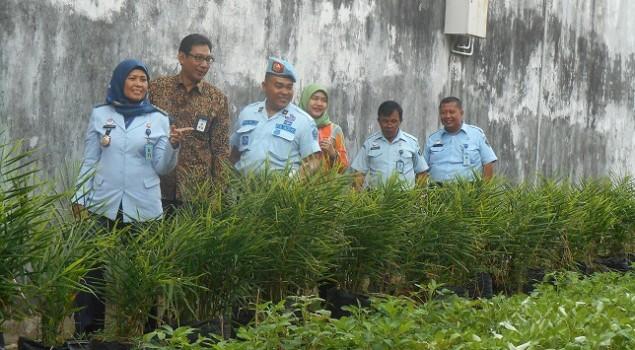 Kegiatan Pertanian Lapas Serang Dipuji BI Provinsi Banten