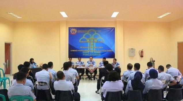 Rapat Dinas Lapas Gunung Sindur Bahas Masalah Fasilitatif & Teknis Substantif