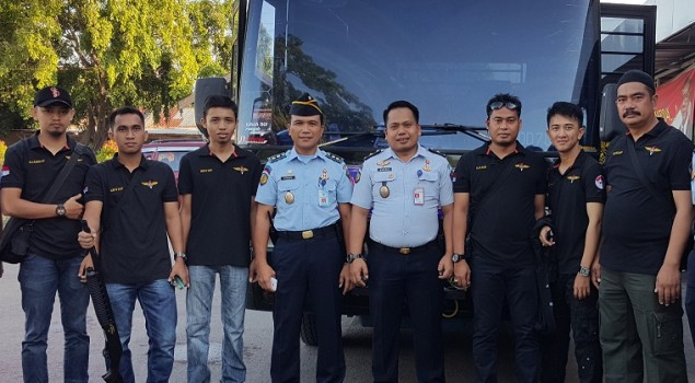 Anggota Baru Satgas Kamtib Rutan Makassar Resmi Dibentuk