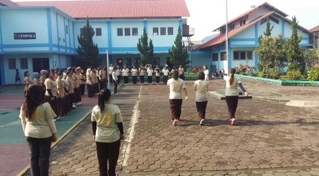 WBP Lapas Wanita Bandung Ikuti Scouting Skill Kepramukaan
