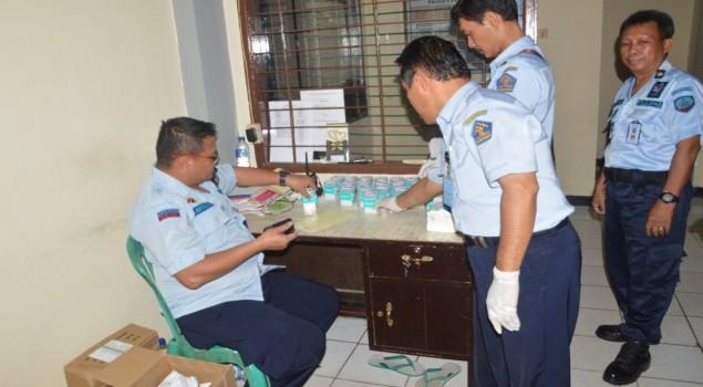 Seluruh Pegawai Rutan Samarinda Bebas Narkoba