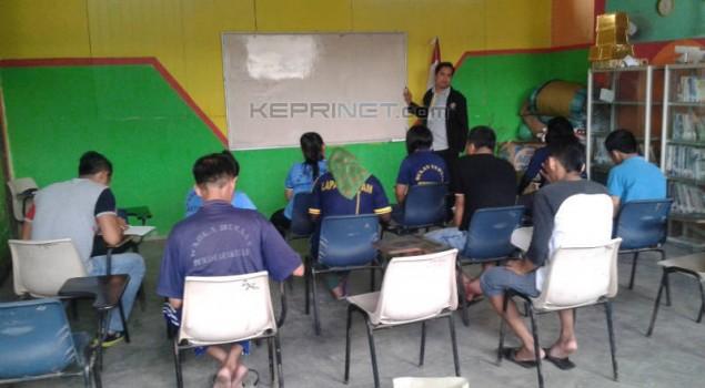 Tingkatkan SDM Warga Binaan, Lapas Barelang Galakkan Kelompok Belajar
