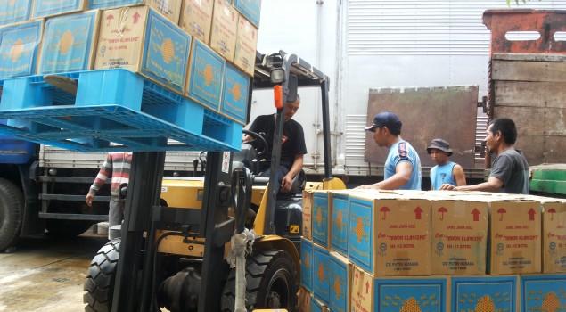 3 Truck Jamu Ilegal Di Simpan di Rupbasan Bandung