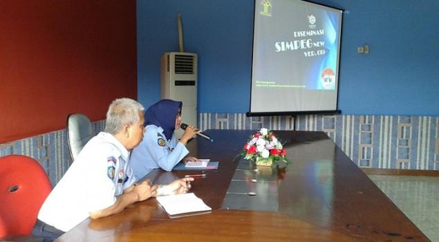 Jadi UPT Pilot Project, LPKA Pria Tangerang Diseminasikan SIMPEG New