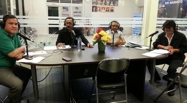 Bahas Narkoba di Lapas, Kadiv PAS Sulut Live di RRI Manado