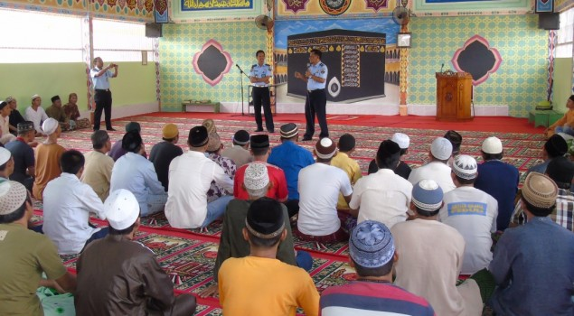 Di Lapas Bandar Lampung Napi Bisa Jadi Santri