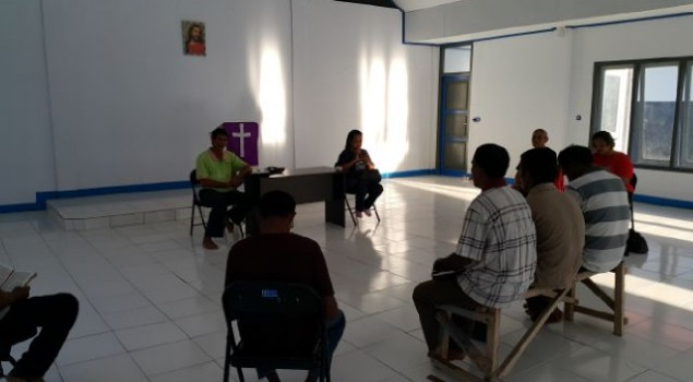 Rutan Weda Gandeng Gereja Bethel Indonesia Beri Pembinaan Rohani untuk WBP