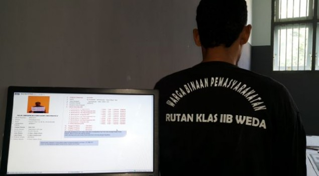 Rutan Weda Aplikasikan SDP Walau Terkendala Jaringan Internet