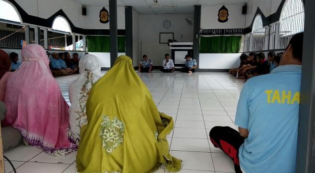 Rutan Majene Bimbing WBP Baca Tulis Al-Quran