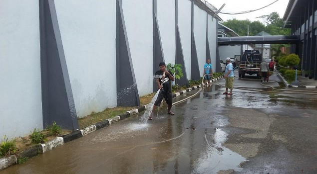 Lapas Narkotika Samarinda Dukung Program Indonesia Bebas Sampah