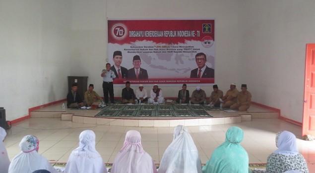 Ratusan WBP Lapas Padangsidimpuan Berdzikir & Doa Bersama