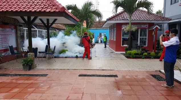 Rutan Pandeglang & Samarinda Lakukan Pengasapan Cegah DBD