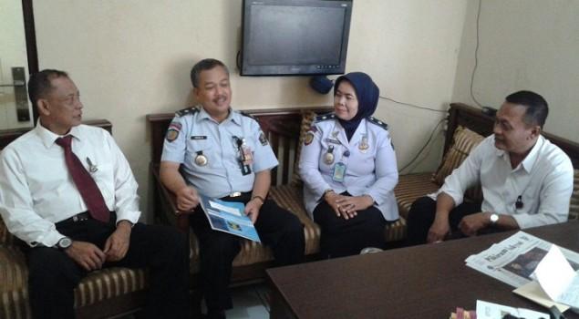 Rupbasan Bandung Rutin Koordinasikan Basan Baran dengan Polda Jabar