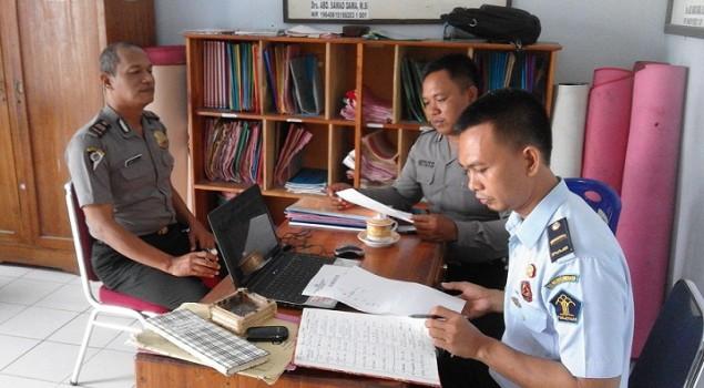 Rutan Unaaha Koordinasikan Data Eks WBP dengan Polres Konawe