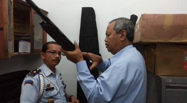 Monev ke Lapas Singaraja, Kadiv PAS Soroti Kondisi Gudang Senjata