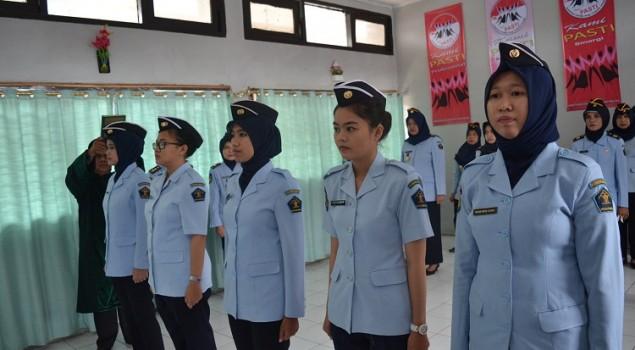 5 Petugas Lapas Wanita Palembang Resmi Jadi PNS