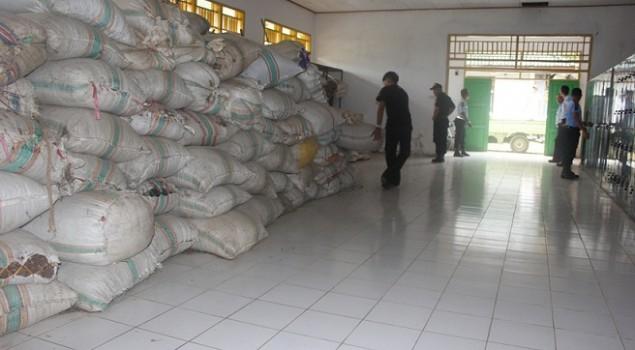 Tidak Cukup Bukti, Rupbasan Kendari Keluarkan Ratusan Karung Tangkai Cengkeh