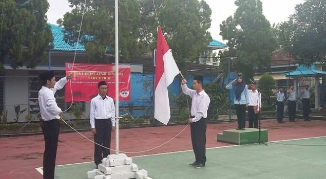 Cuaca Berkabut Tak Kendurkan Semangat WBP Ikuti Upacara Bendera