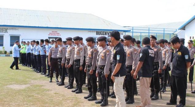 Operasi Bersinar, Kanwil Kemenkumham  Sulawesi Barat Geledah Rutan Pasangkayu