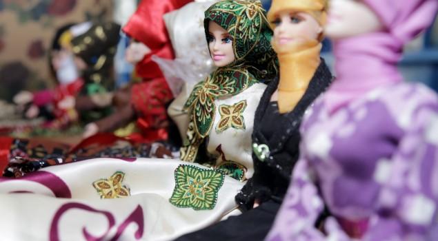 Batik Girl Seri Hijab, Boneka Baru Buatan Rutan Jakarta Timur