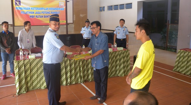 Rutan Bantul Selenggarakan Pelatihan Jasa Potong Rambut untuk WBP