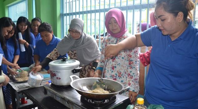Lapas Wanita Palembang Bekali WBP dengan Pelatihan Kemandirian