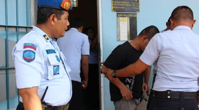 Kepala Rutan Ternate Pimpin Penggeledahan Blok Hunian WBP