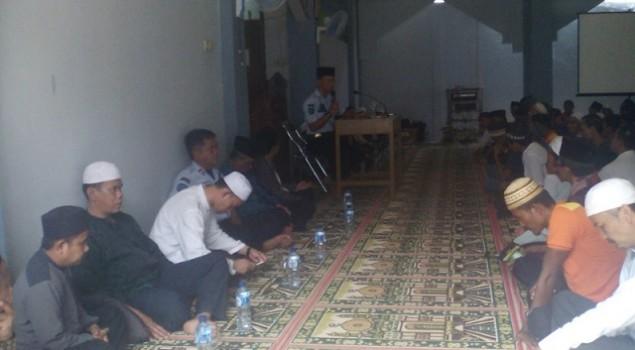 Santri Ponpes Lapas Warungkiara & Azzainiyah Ber-Manaqibul Akbar Bersama